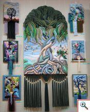 Maravilloso tapiz en relieve. Técnica y diseño deYuriy Nikolayevich Hovsepian.