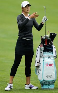 Michelle Wie Photos Photos: Wegmans LPGA Championship: Round 1 women golf Wie (This is an affiliate link) Take a look at this great product. Michelle Wie, Girls Golf, Ladies Golf, Women Golf, Golf Outfits Ladies, Golfing Outfits, Golf Now, Cute Golf Outfit, Golf Cart Accessories