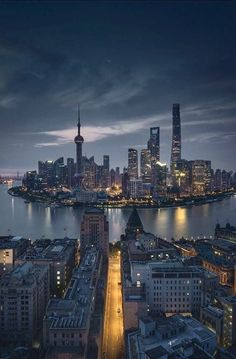 Chinese Architecture remained incredibly constant through the entire history of the united states. Shanghai Skyline, Shanghai City, Ancient Chinese Architecture, Cities, City Wallpaper, City Photography, Cityscape Photography, City Scene, City Aesthetic