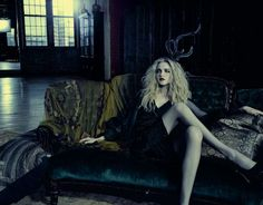 Creepy Glam Photography : Marie Claire Italy October 2010