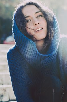 <3 sweaters w/ lots o' fabric