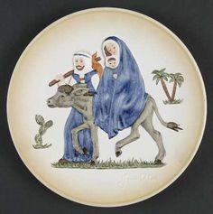 The Reason for the Season-GOEBEL JANET ROBSON CHRISTMAS PLATE
