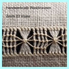 Handwerkcafé Waddinxveen: Zoom Visjes - Best Sewing Tips- Handwerkcafé Waddinxveen: Zoom Visjes – Best Sewing Tips Handwerkcafé Waddinxveen: Zoom Visjes – Best Sewing … - Embroidery Patterns Free, Embroidery Needles, Hand Embroidery Stitches, Embroidery Techniques, Hand Stitching, Cross Stitch Embroidery, Stitch Patterns, Embroidery Designs, Couture Invisible