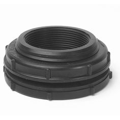 """Bulkhead Fitting 3"""" by Winnipeg Plastics & Tool Ltd.. $26.00. Both sides of the bulkhead are 3"""" FPT (female pipe thread). For connecting plumbing through the liner or side of your water garden or pond.. Also can be used on filter housings. A Bulkhead Fitting is a special plastic fitting to provide a watertight seal through a plastic container or a flexible pond liner. This fitting allows full flow of water and the ability to attach flexible pipe with the use of a..."""