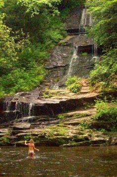 Hiking & Tubing in Bryson City, NC