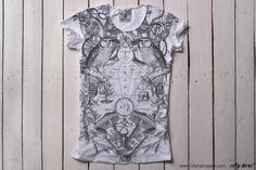 """ALCHEMY"" #cityhero #tee #teeshirt #tshirt #alchemy #engraving #blackandwhite #bw #print"