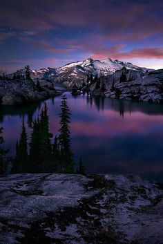Valley of the Blue Moon, North Cascades National Park, Washington State | Michael Bollino