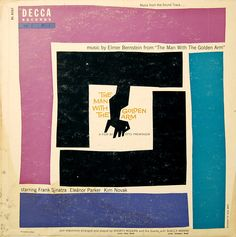 'The Man With The Golden Arm' Artwork by Saul Bass Record Cover, Album Art, Graphic Design, Illustration Saul Bass, Album Design, Lp Cover, Cover Art, Elmer Bernstein, Graphic Design Illustration, Identity Design, Album Covers, Music Covers