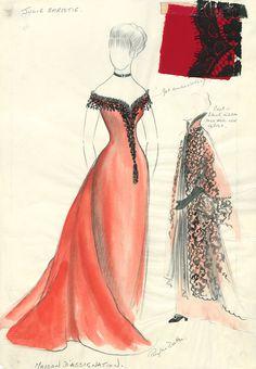 """Doctor Zhivago"" design for Lara (Julie Christie) by Phyllis Dalton MBE Julie Christie, Dr Zhivago, Doctor Zhivago, David Lean, Alec Guinness, Hollywood Costume, Fashion Silhouette, Movie Costumes, 1960s Costumes"