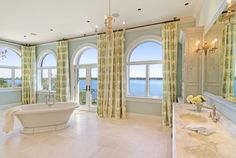 ♥ ♥ Love ♥ ♥ this! Check out more Spa Bathrooms in HGTV FrontDoor's Doory Awards