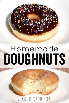 Did you know you can make fluffy and delicious yeasted doughnuts in a bread machine? These homemade doughnuts are going to knock your socks off! Glazed, dipped into chocolate, or covered in cinnamon sugar, do what you want! Go nuts with your doughnuts! Homemade Doughnuts Easy, Easy Donut Recipe, Donut Recipes, Baking Recipes, Dessert Recipes, Homemade Breads, Chocolate Yeast Donut Recipe, Timbits Recipe, Fluffy Donut Recipe