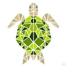 Geometric Animals on Behance