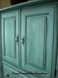 Avoid sanding and stripping when you revive old furniture with chalk paint.