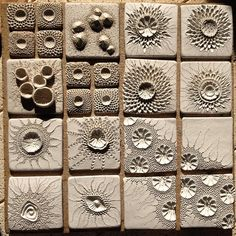 Clay Texture tiles-unknown artist