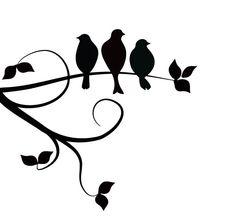"Three little birds tattoo! ""Cause every little thing gonna be alright"" - . Three little birds tattoo! ""Cause every little thing gonna be alright"" - Bob Marley. Family Tattoo Designs, Family Tattoos, Sister Tattoos, New Tattoos, Cool Tattoos, Tatoos, Little Black Bird, Three Little Birds, Silhouette Cameo"