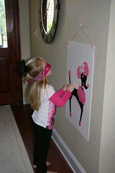 Pin the tail on the Poodle! - Kindergarten Sock Hop 2015