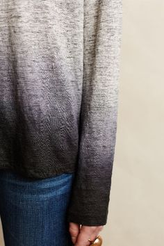 Heathered Dip-Dye Pullover - anthropologie.com