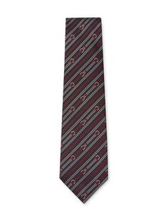 Silk Striped Tie from Gucci Apparel on Gilt