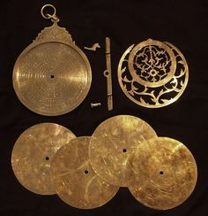 Online veilinghuis Catawiki: Persian astrolabe ca 1900, brass