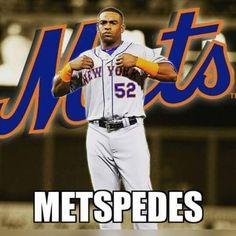 Metspedes NY Mets Cespedes