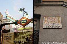 imagen de metro de la Puerta del Sol y calle Preciados Austria, Broadway Shows, Cinema, Art, Paths, Street, Cities, Art Background, Movies