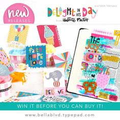 It's another day of NEW RELEASE reveals on the #BellaBlvd blog today! We are happy to announce the newest collection from @illustratedfaith Delight in His Day! Influenced by design contributor #IllustratedFaith Digital Merchandise Manager, @mrs.elaine.davis this collection was inspired by Ecc.8:15 and boasts bright and colorful elements, perfect for soaking up His sunshine with pure, childlike joy!  To check out all the darling carnival-themed details in celebration of His love from this…