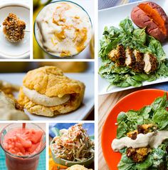 Southern-Style Vegan Menu and many recepies
