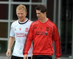Torres returns to training. - liverpool-fc Photo