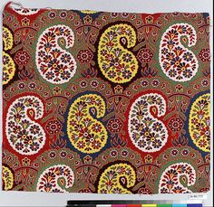 Date: late century Culture: Russian Medium: Cotton Russian Embroidery, Kashmiri Shawls, Folk Print, Folk Costume, Wall Treatments, Surface Pattern, Watercolor Flowers, Flower Art, Embroidery Patterns