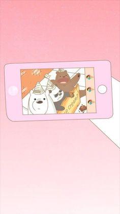 Olha do a cara do pampam❤🌹 Bear Wallpaper, Pastel Wallpaper, Cartoon Wallpaper, Iphone Wallpaper, We Bare Bears Wallpapers, Cute Wallpapers, Cute Illustration, Character Illustration, We Bear