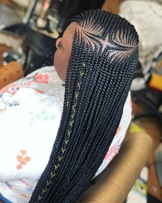 Half Cornrows Half Braids Hairstyles Latest Fabulous 2019 Styles You Will Adore Hello ladies If you are looking for the latest hairstyles among ladies, then you have them right here We have seen ladies rocking weave styles, cornrows and box braid - b Black Girl Braids, Braids For Black Hair, Girls Braids, African Braids Hairstyles, Bun Hairstyles, Cornrolls Hairstyles Braids, African Braids Styles, Dreadlock Hairstyles, Latest Hairstyles