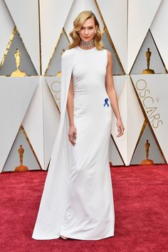 These Are the Best Looks From the Oscars Red Carpet -- BEST GWYNETH TRIBUTE: KARLIE KLOSS IN STELLA MCCARTNEY:   When we see Karlie in this minimalist white gown, all we can think of is Gwyneth Paltrow wearing that Tom Ford stunner circa Oscars 2012. And that's a good thing.   coveteur.com