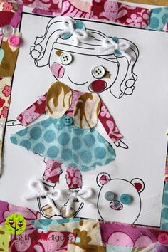 2 Little Hooligans on FB~  Fat Quarter Friday{Doll-ee Dress-up}  Love this blog!! Even though I don't have young children, I've enjoyed this blog and seeing all the creativity!! This is an awesome stay at home mom and she inspires me!  ~Randi Lynn