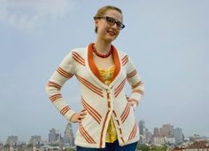 Delancey Cardigan by Alexis Winslow of Knit Darling