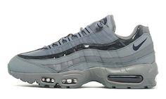 Nike Air Max 95 Cool ~ Grey & Obsidian