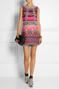 Milly|Jacquard mini dress|NET-A-PORTER.COM