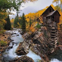 The Crystal Mill is an abandoned powerhouse in Crystal Colorado.  The Denver City Page by itsabandoned
