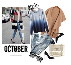 """""""I love October"""" by minasalkicm ❤ liked on Polyvore featuring Dolce&Gabbana, Gianvito Rossi, Christian Louboutin and Retrò"""