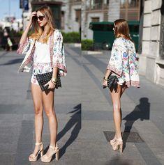 Zara Jacket, Zara Shorts