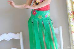 Easy Moana Skirt Tutorial
