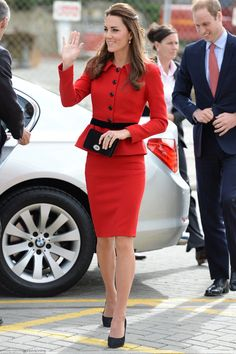 Kate   Adore the Red on her.