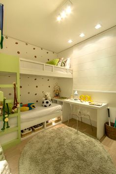 Dormitório do apartamento de 3 dormitórios do HomeClub Guarulhos