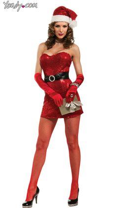 Miss 5th Avenue Sexy Santa Costume