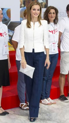 Queen Letizia of Spain's Most Captivating Style Moments - July 4, 2014 from #InStyle