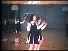 My dad filmed our high school cheerleading squad on home court with his brand new camera. High School Cheerleading, Cheerleading Pictures, Cheerleading Uniforms, John Glenn, Band Uniforms, Historical Images, Love Affair, Vintage Photos, Dads