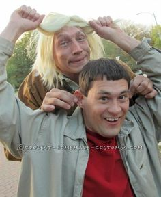 Best Dumb and Dumber Look-A-Like Costume Ever! - 3