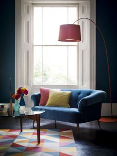The Zeppelin sofa is our 1950s throwback; its simplistic and curvaceous frame make a bold style statement. Plus, it's a joy to sit on!