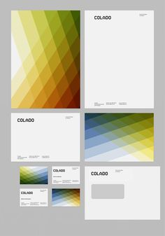 colado / silvio ketterer | #stationary #corporate #design #corporatedesign #logo #identity #branding #marketing <<< repinned by an #advertising agency from #Hamburg / #Germany - www.BlickeDeeler.de | Follow us on www.facebook.com/BlickeDeeler