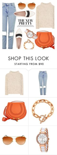 """Bright Color Details"" by jomashop ❤ liked on Polyvore featuring Tom Ford, Topshop, Burberry, Kate Spade and orange"