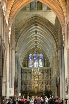 Southwark Cathedral in London, UK